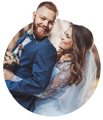 Wedding newlyweds