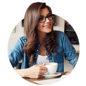 Business Woman Tea